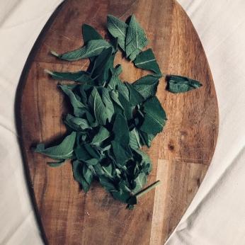 Freshly chopped sage